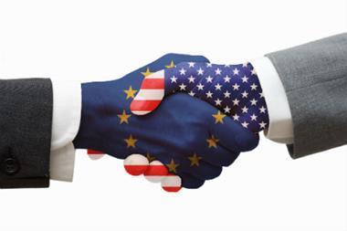 EU US handshake